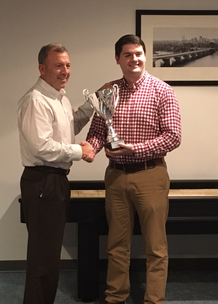 Matt Sevinsky Shuffleboard Champion