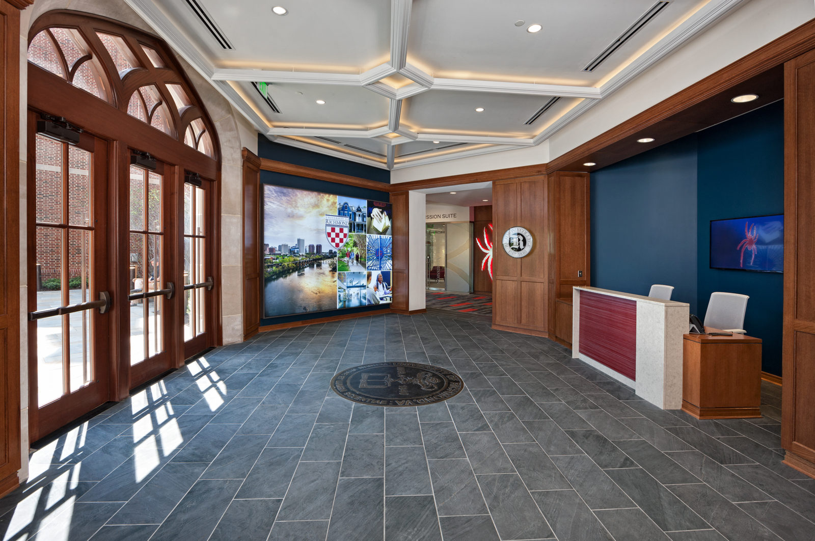 NEWS - UR Queally Center Interior