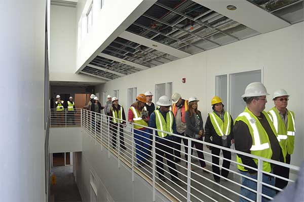 AIA Tour of Greer Center