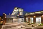 exterior image of the broad creek library project