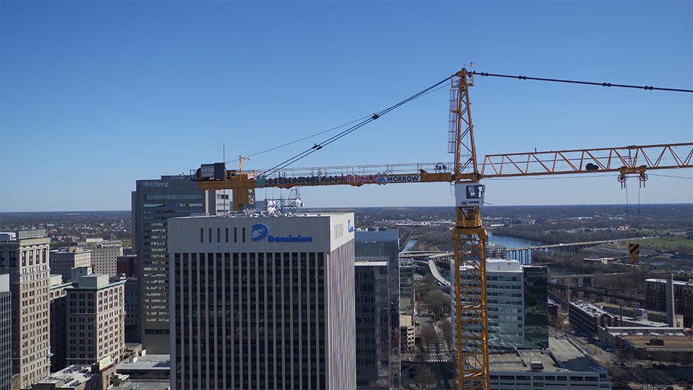 Dominion Tower Crane