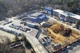 drone image of faison project site phase 2