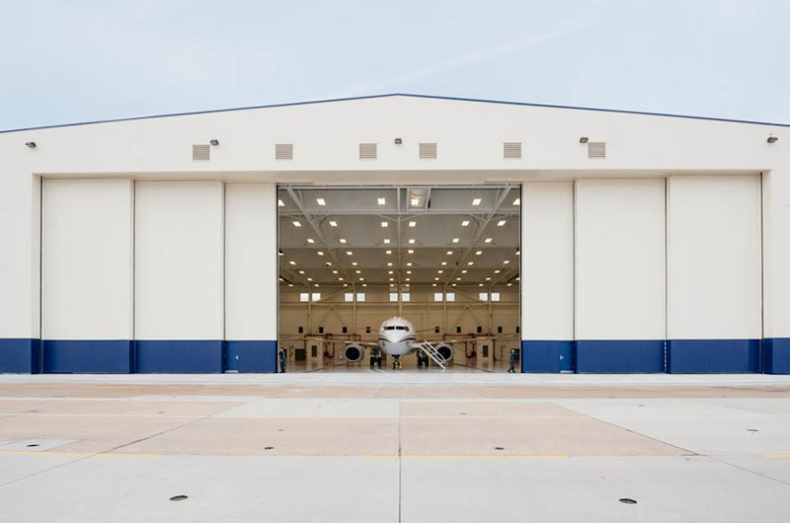Image of P767 Hangar