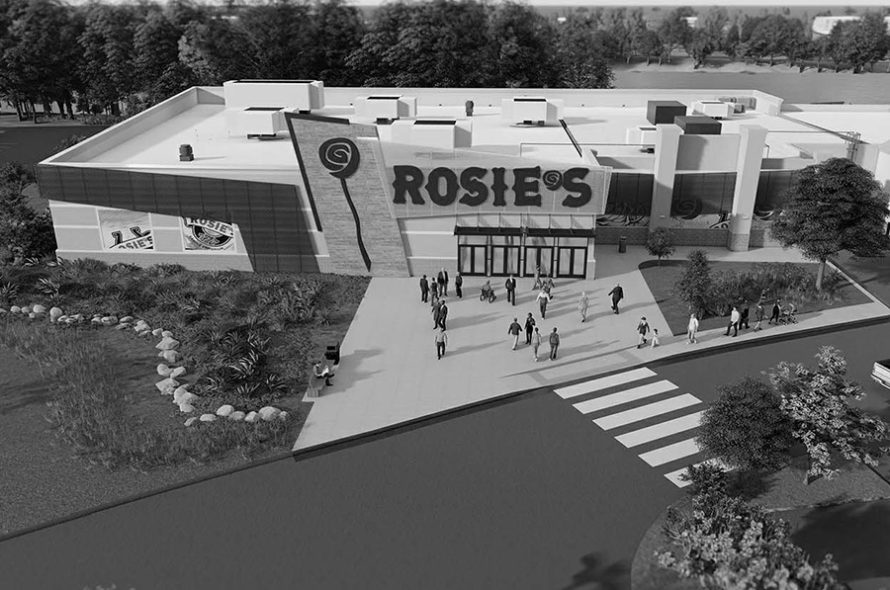 rendering of rosie's gaming emporium in hampton