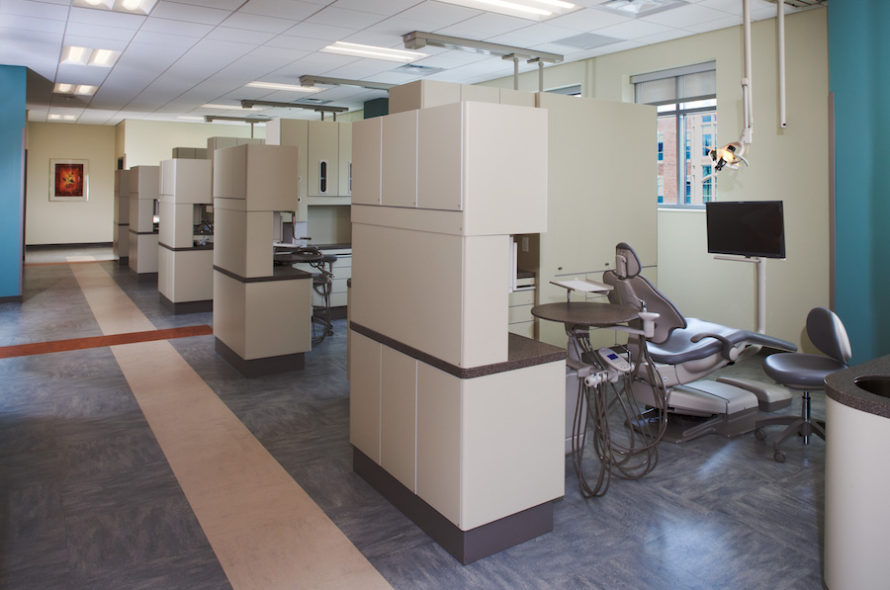 Image of VCU School of Dentistry Dental Lab