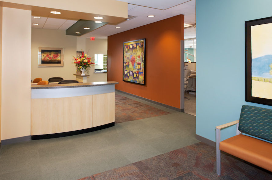 Image of VCU School of Dentistry Lobby