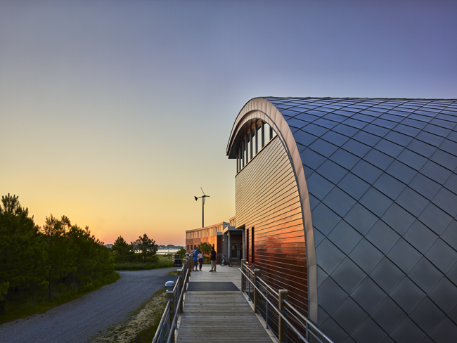 Brock Environmental Center Prakash Patel Photography, courtesy of SmithGroupJJR