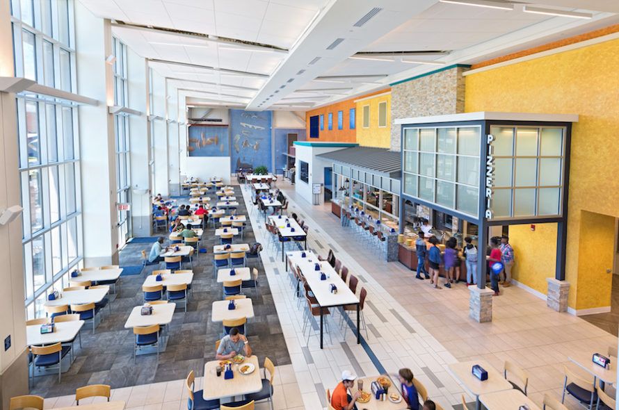 Tidewater dining hall
