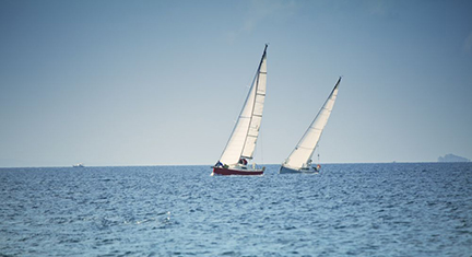 Image of sailboats